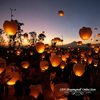 wholesale 400pcs/lot Free shipping,SKY Balloon Kongming wishing Lanterns Flying Light Halloween Lights,Chinese kongming lanterns