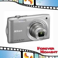 COOLPIX S3300 Original Nikon COOLPIX S3300 6x Optical Zoom,4x Digital Zoom,14.1MP Sensor Resolution Digital Camare
