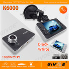 Free Shipping Full HD 1080P K6000 Car DVR Blackbox support Low Illumination Night Vision + G-Sensor + 1920x1080 25FPS(China (Mainland))