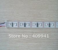 free shipping HL 1606 IC digital Addressable RGB led Dream Color strip Light Ribbon Strip Rope 40LEDs/M