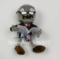 2013 Children's Day Hot New Newspaper Zombie Figures of Plants Vs Zombies Samll Zombie soft toy