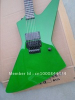 2012 new arrival + free shipping + manufacturer + Green ESP explorer custom shop electric guitar, james hetfield replica guitar