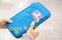 Free shipping !50pcs/lot wholesale New Travel Passport Credit ID Card Cash Holder Organizer Wallet Purse Case Bag