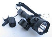cree led powerful hunting flashlight