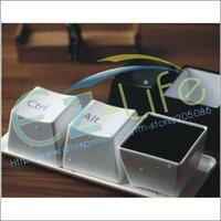 Free shipping creative keyboard cup fashion mug per set include Ctrl Del Alt 3 pieces mug and a tray black/white set
