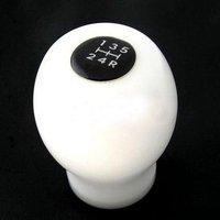 Wholesale ( 6pcs/lot ) STI White/Black Color Car Gear Shift Knob Auto Shift Knob