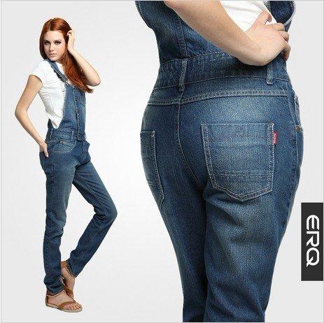 Womens Jean Overalls - Xtellar Jeans