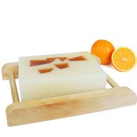 Free shipping (5pcs/lot) High Quality Sweet Orange Wheat-germ Coconut Soap Natural Handmade Bath Soap