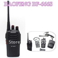 cheapest 2 Way Radio BaoFeng BF-666S handie talkie UHF 5W 16CH