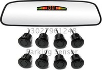Guaranteed 100% New  LED Display Mirror Parking Sensor with 8 Sensors + 2012 Best Selling