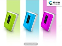 Free shipping NEW 4000mAh USB output portable charger power bank for iphone ipad ipod mobile phone and all USB device