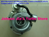 NEW RHF5/VICC 8970863433 Turbocharger for OPEL Frontera Monterey,ISUZU Trooper,Engine:4JB1T 2.8TD 113HP 4JG2T 3.1TD 114HP