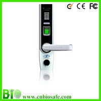 OLED Display Fingerint Door Lock HF-LA501 USB Interface Electronic Key Door Lock with handle Read Password/iD/Proximity Card