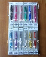 (24 pcs)Crystal pen with PVC box,Jeweled pen,Bling baling pen,diamond pens/crystal stone pen/pen with stone