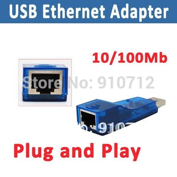 Free Shipping USB 10/100 Mbps USB Lan Network Card Adapter/USB ethernet adapter
