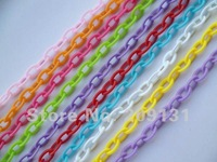 13MM x 8MM DIY Plastic Jewelry Chains Parts, free shipping