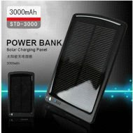 Wholesale - 3000mAh Solar Charger External battery Mobile Emergency Power Bank Backup Power dropshipping