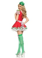 aolover women sexy clothes Adult Strawberry Shortcake Costume  1321  + Best seller +Cheaper price  lady wholesale lingerie