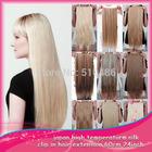 """Klip Nowa długa 24 """"Ladies 'IN Hair Extensions Hetero Hairpiece syntetyczny 20 kolory dostępne 1Pcs/Lot (Chiny (kontynentalne))"""