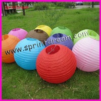 (50pcs/lot) 8''(20cm) Free shipping ! Chinese paper lantern, wedding lantern, paper lampshade