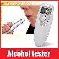 Digital LCD Alcohol Tester Analyzer Breathalyzer