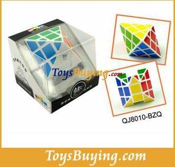 wholesale 20pcs/lot 6cm QJ UFO Abnormity magic cube Global shipping