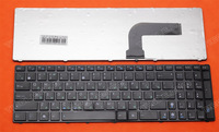 NEW Russian Keyboard For Asus K52   X61 N61 G60 G51  MP-09Q33SU-528 V111462AS1 0KN0-E02 RU02 04GNV32KRU00-2 V111462AS1 laptops