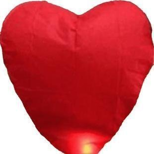 Free Shipping 10pcs/lot heart Sky Lanterns, Wishing Lamp SKY CHINESE kongming LANTERN BIRTHDAY WEDDING PARTY