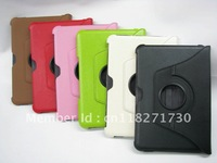 Hot sales High Quality 360 Degree rotate PU leather case for Samsung galaxy tab 8.9 inch P7300, wholesales
