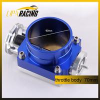 Universal Aluminum 90MM Throttle Body Intake Manifold RB25DET RB26DET GTS air intake