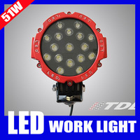 3600 lumens 51W LED Work Lamps Off Road High Power 51 Watt LED Working Light Auto Light Spot Light