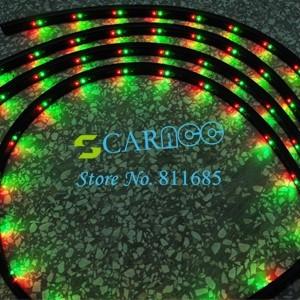 4pcs RGB Under Underbody Car Glow Flexible Led Strip Light Kit Neon with Remote Control 884