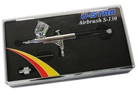 U-STAR Multi-Purpose Precision Dual-Action Gravity Feed Airbrush S-130, 0.3mm Nozzle