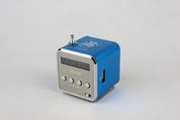 Portable 20pcs TD-V26 USB TF Card Radio Mini Digital Speaker with stylish design Free Shipping