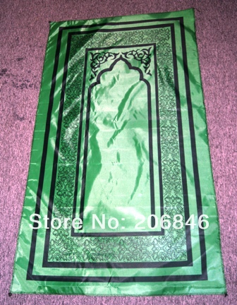 Hot sale TK-PP006B Pocket Prayer Mat islamic RUG muslim Mat- promotion(China (Mainland))
