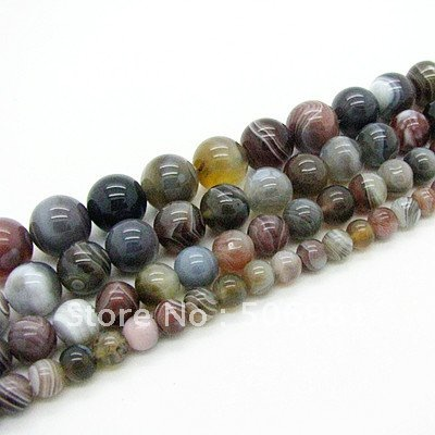 8mm 20pcs Fashion Imported Persian Natural Agate Jewelry Stone Loose Beads for Bracelet&Necklace Free Shipping HA584(China (Mainland))