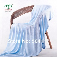New 2015 MAOMAOYU Brand Blanket Promotion-1PC 120*120CM Bamboo Fiber Baby Blanket Home Bedding Set  Children Swaddle 220067
