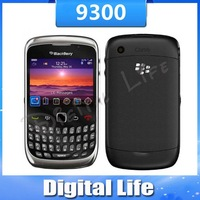 9300 Original BlackBerry 9300 Curve 3G Cell Phone Unlocked 3G GPS Smartphone Free Shipping