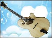 fully handmade and solid wood mandolin style jazz guitar