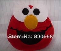 "lovely Sesame street  elmo plush candy /Makeup/jewelry plush bag 5"" Free Shipping 1pcs"