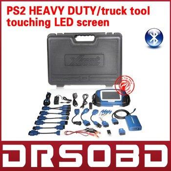 100% Original Professional Truck Heavy Duty Diagnostic Tool PS2 Heavy Duty truck update via internet + bluetooth diagnosis