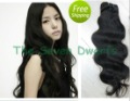 "AAAA Virgin Malaysian Hair Human Hair Weft Body Wave 12""-32"" 3bundles/lot Natural Color Extension Hair DHL Free Shipping"