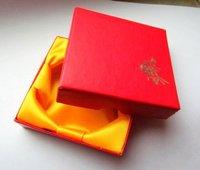 Free shipping, Jewelry box wholesale, 9*9cm bracelets bracelets box. [yarn color random delivery]