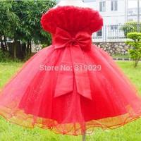 Flower girl dress Princess dress Baby 2014 Summer dresses Dancewear Pageant clothes Lace dress