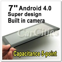 "7"" capacitive screen  5-point ,android 4.0 Camera 8G built-in WIFI Thin tablet pc built in webcams,USB2.0 laptops wholesales"