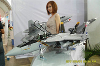 RTF Skull  Upgrade Version / RTF RC F-18 Hornet jet plane / Folding wing / With metal landing gear /  And Upgraded to Metal EDF