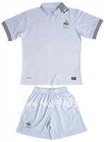 France jerseys Free Shipping 12-13  national away  Benzema Soccer Jerseys soccer uniforms soccer kits