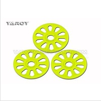 F00616-3 3pcs Tarot Main drive Gear TL45155-02 Yellow for Trex 450 V2 Sport Pro rc helicopter + Free shipping