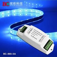 Amplifier LED power repeater DC12-24V Amplifier CV  5A*3ch power repeater LED Power Amplifier