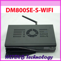 DHL Free Shipping  Dm800hd se Satellite Receiver with wifi Enigma2 BCM4505 tuner dvb-s2 Linux Operating System dm800se